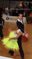 Giuseppe Dell'aria & Irina Perez Lopez at Austrian Open Championships 2012