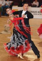 Anthony Chong & Gloria Chien at Austrian Open Championships 2012
