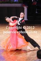 Stas Portanenko & Nataliya Kolyada at 10th Shenzhen China Open Championships
