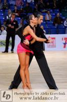 Jenya Suvorov & Tina Bazokina at
