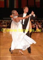 Dmytro Vlokh & Olga Urumova at Austrian Open Championships 2005