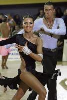 Dmytro Vlokh & Olga Urumova at Ukrainian IDSA Championships