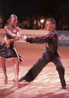Dmytro Vlokh & Olga Urumova at Kyiv Open 2007