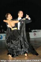 Dmytro Vlokh & Olga Urumova at Ukrainian Championships 2008