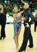 Dmytro Vlokh & Olga Urumova at Yuzhny Major Cup 2008