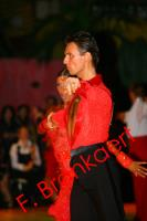 Dmytro Vlokh & Olga Urumova at Dutch Open 2008