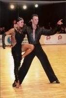 Dmytro Vlokh & Olga Urumova at Kyiv Open 2008