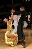 Maksim Bodnar & Elisaveta Vnuchkova at Dutch Open 2012