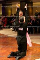 Dmytro Vlokh & Viktoriya Kharchenko at London Ball 2011