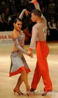 Mitchell Leyzerzon & Anna Derevyanchenko at