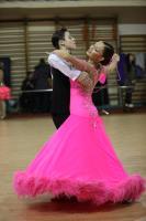 Andrey Dekhtyaryuk & Margarita Kapustina at