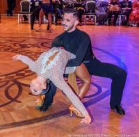 Giuseppe Rizzo & Jessica Pellegrino at