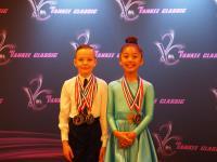 Iman Zhylkaidar & Chanel Alexander at