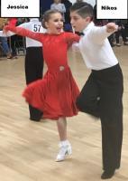 Andronikos Pallikarou & Jessica White at