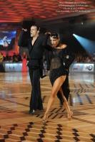 Emanuele Soldi & Elisa Nasato at WDC European Open Professional Latin Championship