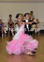 Sean Finnegan & Michelle Mutuleasa at