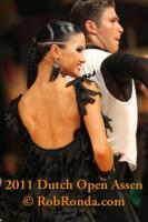 Kirill Belorukov & Elvira Skrylnikova at Dutch Open 2011