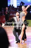 Kirill Belorukov & Elvira Skrylnikova at 10th Shenzhen China Open Championships