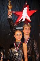 Kirill Belorukov & Elvira Skrylnikova at Moscow Star 2009