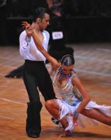 Denys Drozdyuk & Antonina Skobina at US National Amateur DanceSport Championships