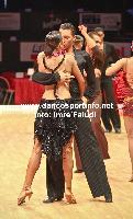 Daniel Juvet & Zuzana Sykorova at Czech Dance Open 2009