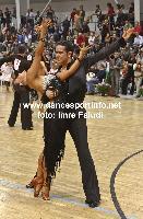 Andrea Silvestri & Martina Váradi at Hungarian Latin Championships
