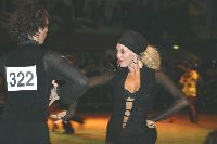 Sonny Fredie-pedersen & Gigi Fredie-pedersen at Dutch Open 2003