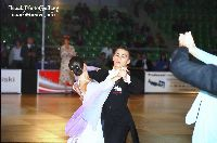 Denys Drozdyuk & Polina Kolodizner at IDSF World Youth Standard Championships