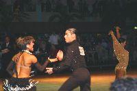 Fabrizio Buonifacio & Elisabetta Buonifacio at Dutch Open 2003
