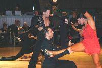 Frederic Puaux & Mylene Clary at Dutch Open 2003