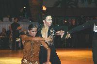 Paul Killick & Hanna Karttunen at Dutch Open 2003