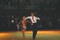 Andrei Gavriline & Elena Kryuchkova at Dutch Open 2003