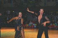 Andrei Bushchik & Valeria Bushueva at Dutch Open 2003