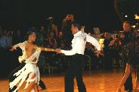 Emanuele Soldi & Elisa Nasato at Dutch Open 2003