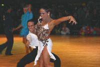 Chris Bernaards & Diane De L'eau at Dutch Open 2003