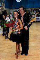 Andrea Silvestri & Martina Váradi at Hungarian Latin Ranking and club competition