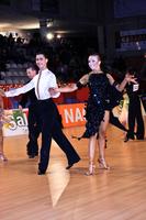 Bogdan Boie & Ksenya Rybina at XII Spanish Open 2010