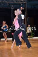 Michal Drha & Klara Drhova at Czech National Latin Championships