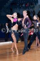 Lukas Chmelik & Michaela Habartova at Czech National Latin Championships