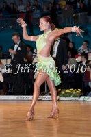 Jan Dvoracek & Klara Decastelova at Czech National Latin Championships