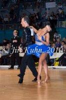 Ivan Bocharov & Jana Machackova at Czech National Latin Championships