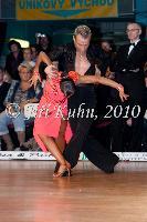 Marek Dedik & Orsolya Toth at Czech National Latin Championships