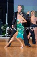 Jakub Drmota & Lenka Navorkova at Czech National Latin Championships