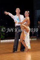 Martin Dvorak & Zuzana Silhanova at Czech National Latin Championships