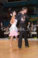 Daniel Ciml & Vanda Detinska at Czech National Latin Championships