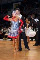 Jiri Gatnar & Kamila Svobodova at Czech National Latin Championships