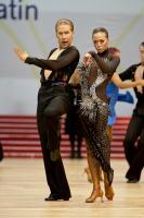Neil Jones & Ekaterina Jones at World Amateur Latin Championships