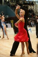 Jurij Batagelj & Jagoda Batagelj at World Amateur Latin Championships