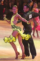 Daniele Fulvi & Danielle Toal at Blackpool Dance Festival 2011