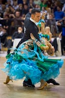 Paolo Bosco & Joanne Clifton at 2012 WDSF Professional Championship